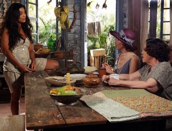 Zarolha incentiva escapadas de Gabriela e tenta colocar Nacib contra a cozinheira (21/8/12)