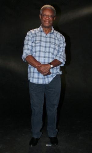 """Milton Gonçalves participou da coletiva de apresentação da novela """"Lado a Lado"""", no Projac, zona oeste do Rio (24/8/12)"""