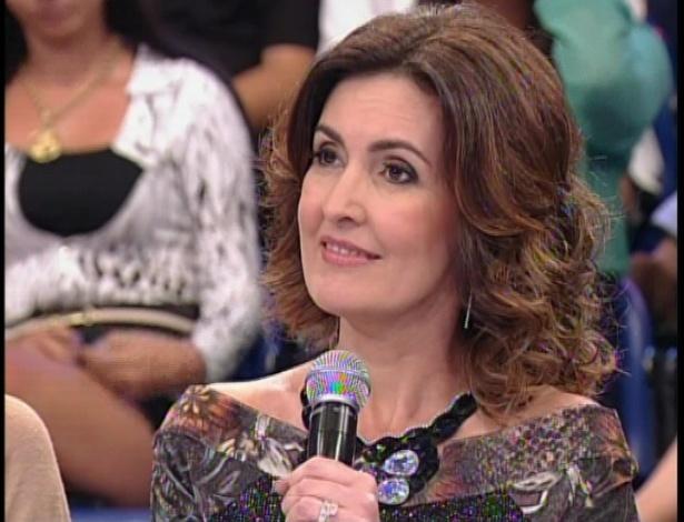 """A jornalista e apresentadora Fátima Bernardes fez parte do júri técnico da """"Dança dos Famosos"""" neste domingo (26), que teve música sertaneja"""