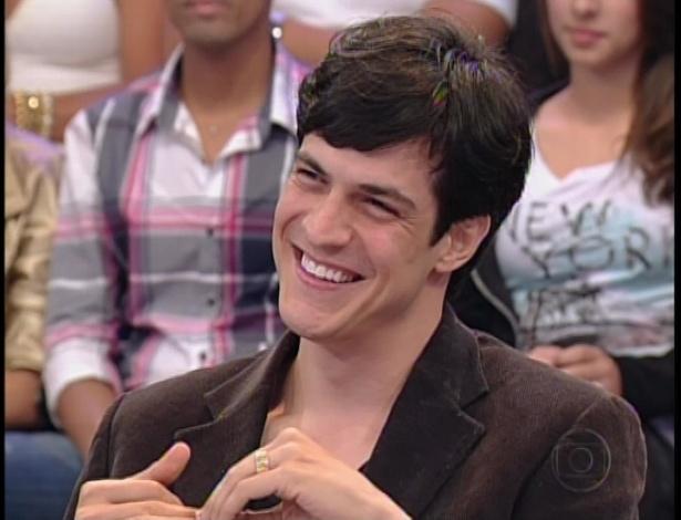 """O ator Mateus Solano também fez parte do júri artístico da """"Dança dos Famosos"""" neste domingo (26)"""