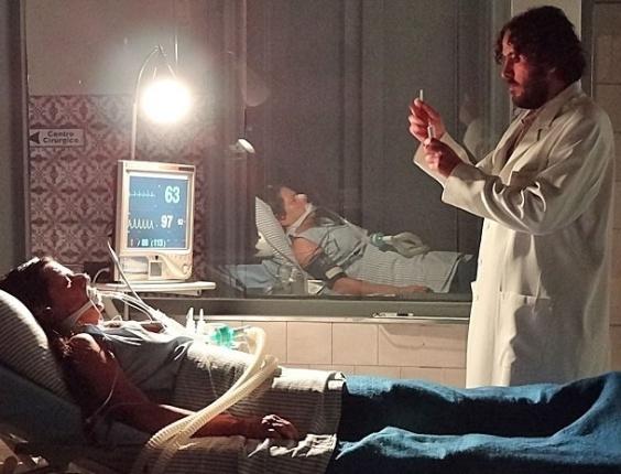 """Em """"Amor Eterno Amor"""", Rodrigo reencontra Angélica e, sem saber, a salva da morte (27/8/12)"""