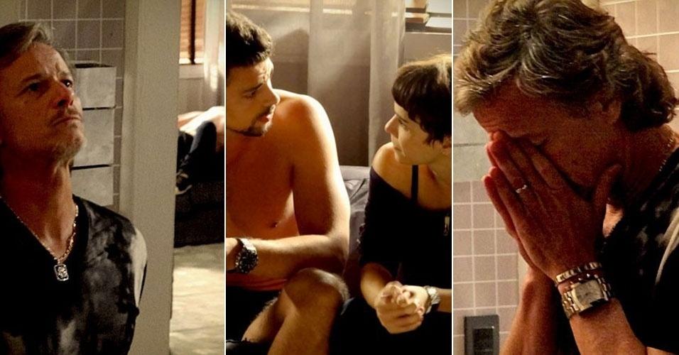 """Em """"Avenida Brasil"""", Max descobre que foi usado por Nina"""