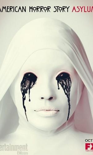 """Pôster de """"American Horror Story: Asylum"""" que estreia em 17 de outubro nos EUA"""
