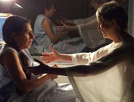 """Em """"Amor Eterno Amor"""", Rodrigo parte para o ataque e insinua que Melissa o sequestrou"""