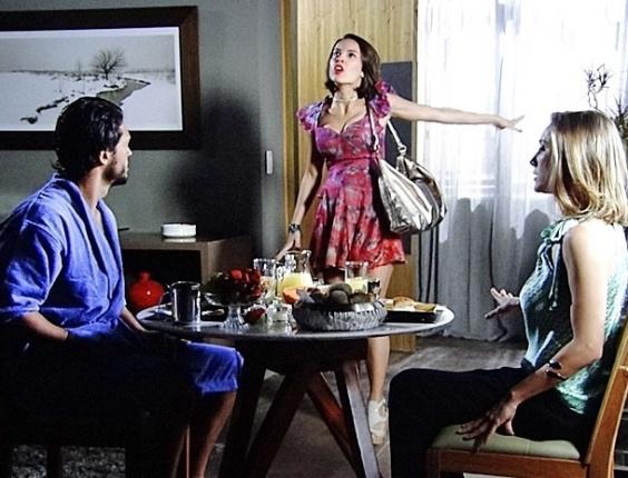 """Raphael Viana, Andréia Horta e Vanessa Bueno em cena de """"Amor Eterno Amor"""" (29/8/2012)"""