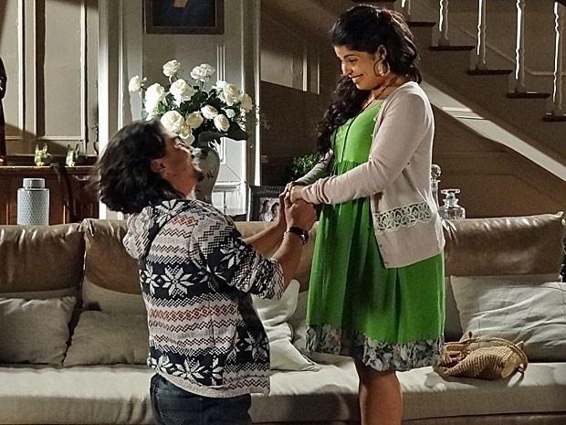 """Em """"Amor Eterno"""", Pedro se declara para Gracinha (30/8/12)"""