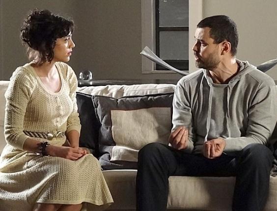 """Letícia Persiles e Carmo Dalla Vecchia em cena de """"Amor Eterno Amor"""" (3/9/2012)"""