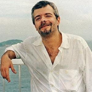 O autor de novelas Carlos Lombardi, no Rio de Janeiro (23/3/96)