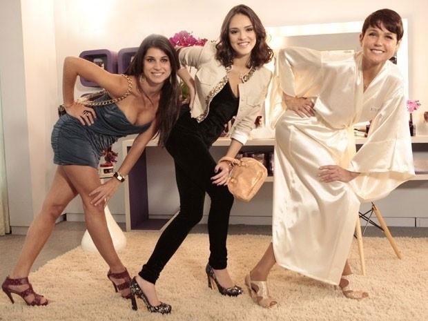 """Em """"Cheias de Charme"""", Xuxa diz a Cida que quer a volta das Empreguetes (4/9/12)"""