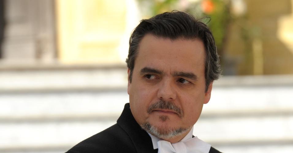 """Cássio Gabus Mendes é Bonifácio em """"Lado a Lado"""""""