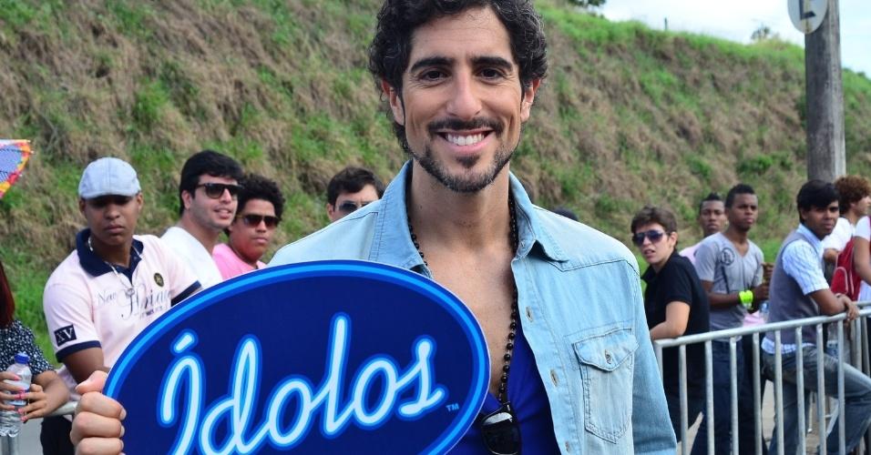 """Marcos Mion estreia como apresentador do reality show """"Ídolos 2012"""""""