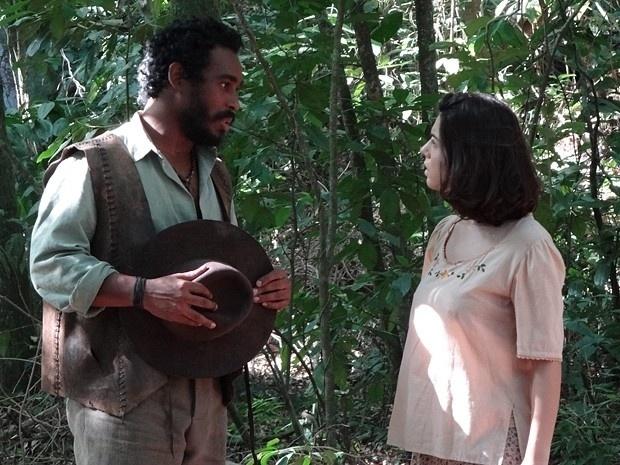"""Em """"Gabriela"""", jagunço pede Lindinalva em casamento (6/9/12)"""