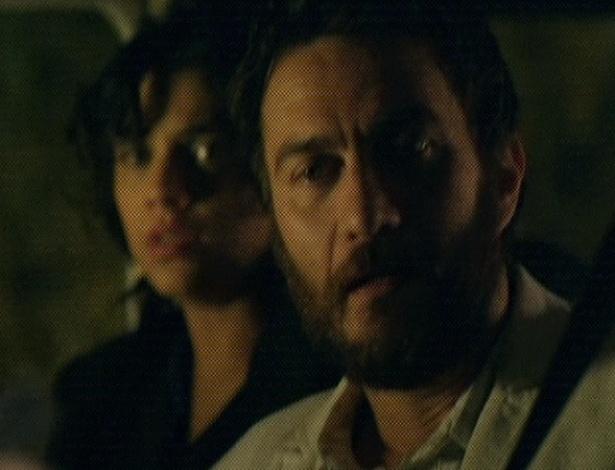 """Em """"Amor Eterno Amor"""", Melissa diz a Rodrigo que ele acabou com a vida de Fernando. A vilã ameaça a atirar no sobrinho e em Miriam (7/9/12)"""