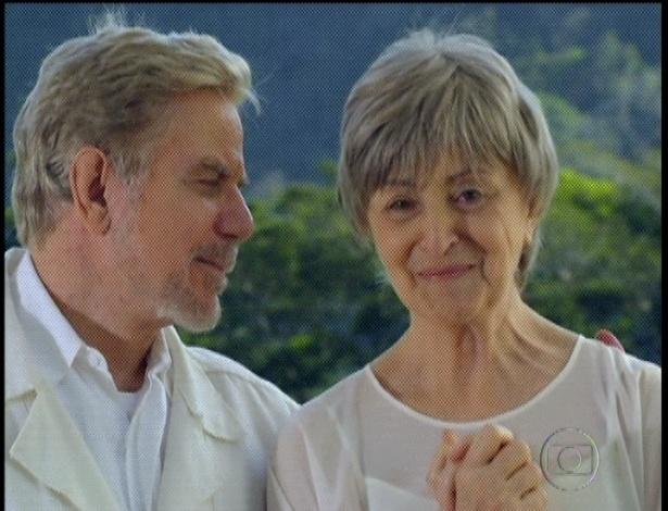 """Lexor diz para Augusto e Verbena que logo Miriam e Rodrigo serão pais e a criança terá a alma da avó. """"Essa criança será você, Verbena. Prepare-se para voltar à terra"""", diz o espírito de luz (7/9/12)"""