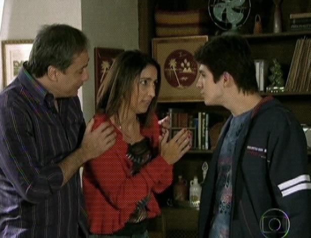 """Em """"Amor Eterno Amor"""", Bruno vai viajar e família se despede (7/9/12)"""