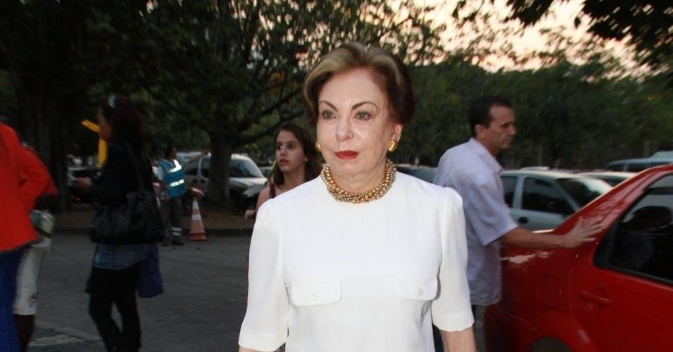 """A atriz Beatriz  Segall assistiu ao primeiro capítulo da novela """"Lado a Lado"""" na churrascaria Porcão, no Aterro do Flamengo, no Rio (10/9/12)"""