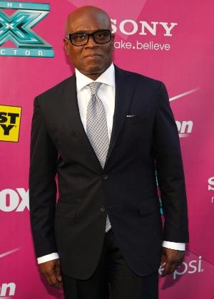 """L.A. Reid, jurado de """"X Factor"""", chega à pré-estreia do programa (12/9/12)"""