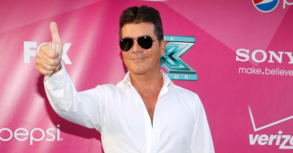 Simon Cowell gravará fitas com sua voz para filho não ter sotaque americano