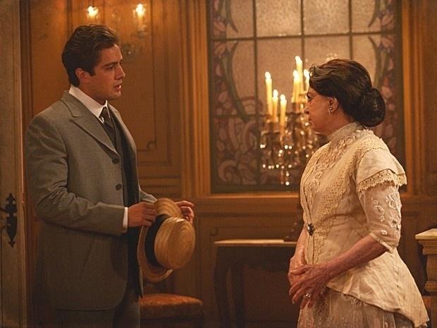 """Em """"Lado a Lado"""", Albertinho finge ser pobre para conquistar Isabel (14/9/12)"""