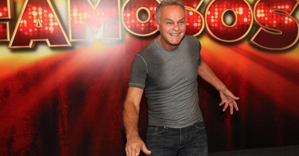 """Kadu Moliterno chega para final da """"Dança dos Famosos"""" (16/9/12)"""