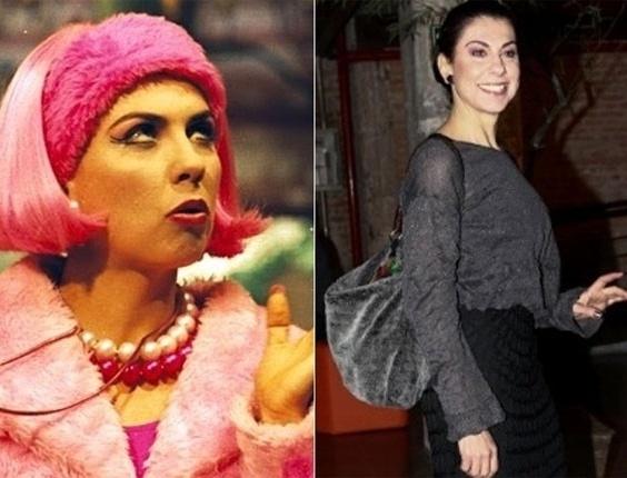 A atriz Ângela Dip fazia algumas participações como a chamativa Penélope no Castelo Rá-Tim-Bum