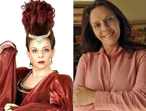 A atriz veterana Rosi Campos deu vida a Morgana