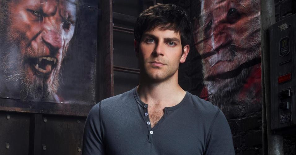 Nick (David Giuntoli) em imagem de divulgação da segunda temporada de Grimm