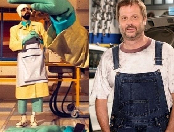 O ator Marcelo Stroeter ficou famoso no Castelo Rá-Tim-Bum por apresentar um quadro científico de Tíbio e o Perônio