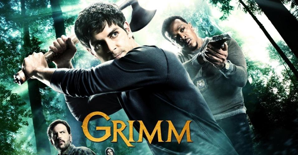 Pôster da segunda temporada de Grimm, que estreia em 17 de setembro no Universal Channel