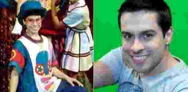 """Luciano Amaral interpretava Pedro no """"Castelo Rá-Tim-Bum"""" - Divulgação/Reprodução - Divulgação/Reprodução"""
