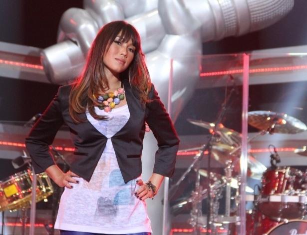 "Daniele Suzuki, que dará flashes diários sobre os bastidores do ""The Voice Brasil"" (18/9/12)"