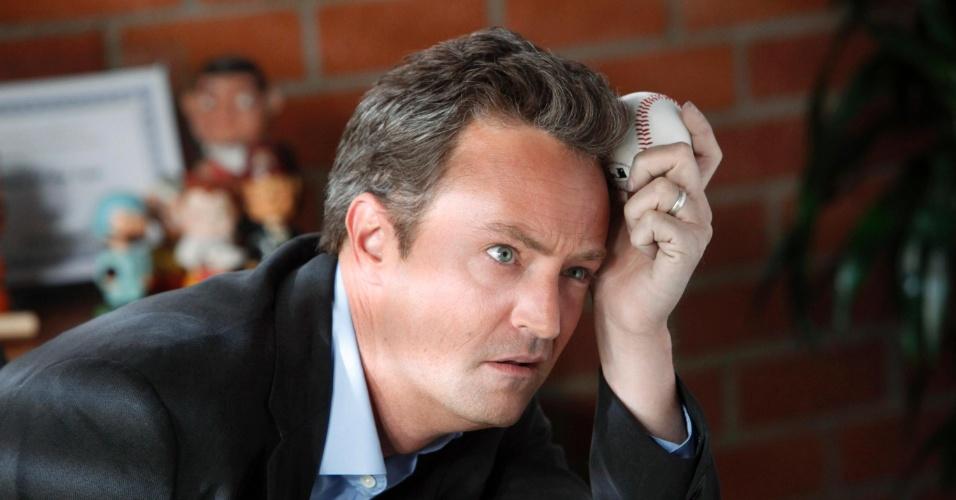 Perry é mais conhecido por interpretar o personagem Chandler na serie ?Friends?