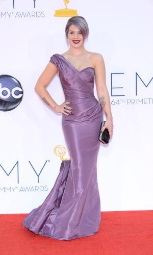 Kelly Ousborne chega à 64ª edição do Emmy Awards, em Los Angeles, nos EUA (23/9/12)