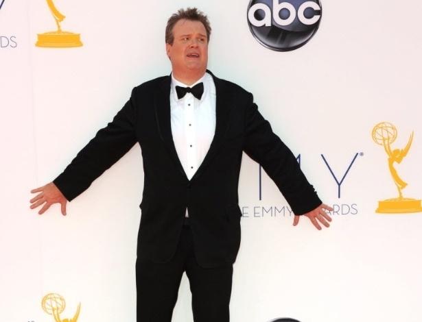 O ator Eric Stonestreet chega à 64ª edição do Emmy Awards, em Los Angeles, nos EUA (23/9/12)