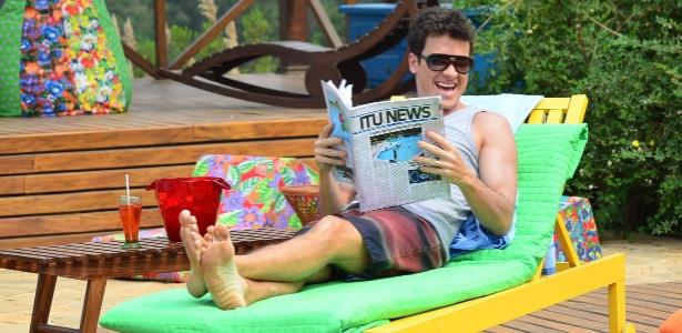 Rodrigo Faro gravou primeiras cenas de novo reality show da TV Record