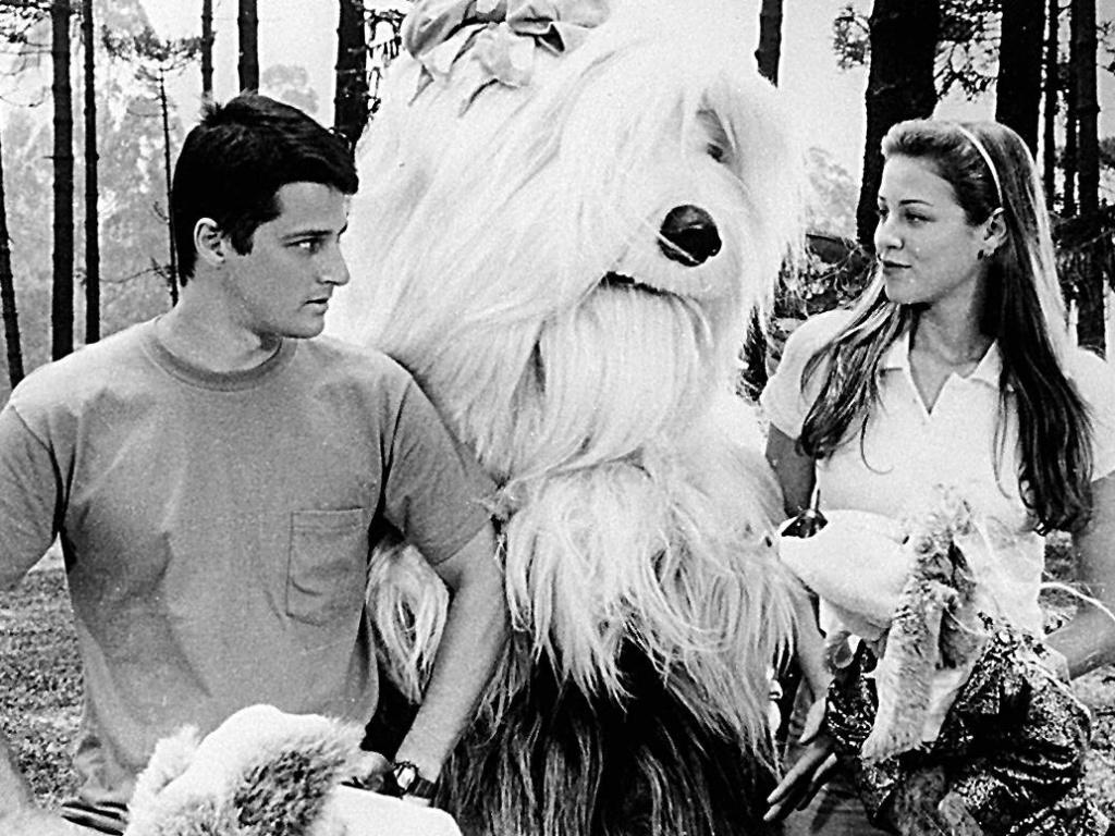 Marcelo Serrado e Luana Piovani em cena do filme