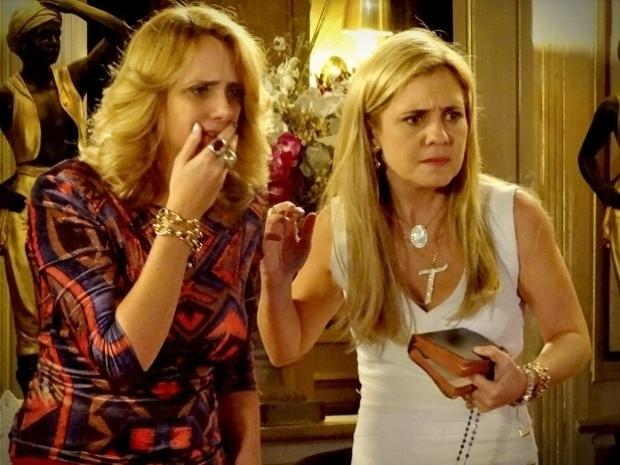 """Em """"Avenida Brasil"""", Ivana vê o  vídeo de Max e Nina """"juntos"""" e fica transtornada (27/9/12)"""