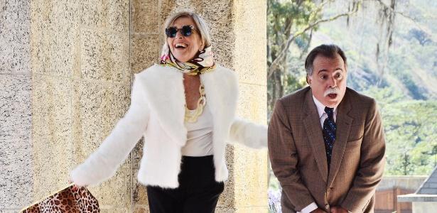 """Irene Ravache e Tony Ramos em cena de """"Guerra dos Sexos"""" (2012)"""