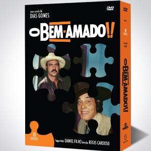 """Embalagem do DVD da novela """"O Bem Amado"""" (1/10/12)"""