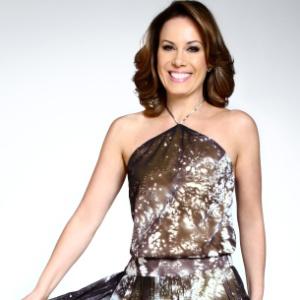 "Regina Volpato, apresentadora do ""Se liga, Brasil"" (2012)"