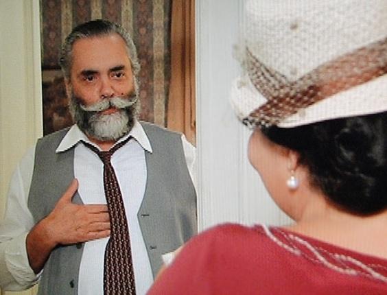 """Em """"Gabriela"""", Olga dá o troco e trai Tonico com Ezequiel"""