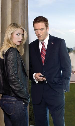 """Carrie Mathison (Claire Danes) e Nicholas Brody (Damian Lewis) aparecem em imagem de divulgação da segunda temporada de """"Homeland"""", que estreia no canal FX, no dia 21 de outubro, às 23h"""