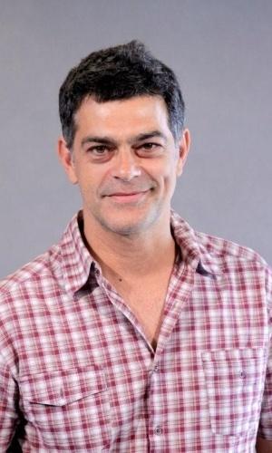 """O ator Eduardo Moscovis se reuniu com o elenco do """"Louco por Elas"""" para apresentar a segunda temporada da série no Projac, zona oeste do Rio (9/10/12)"""