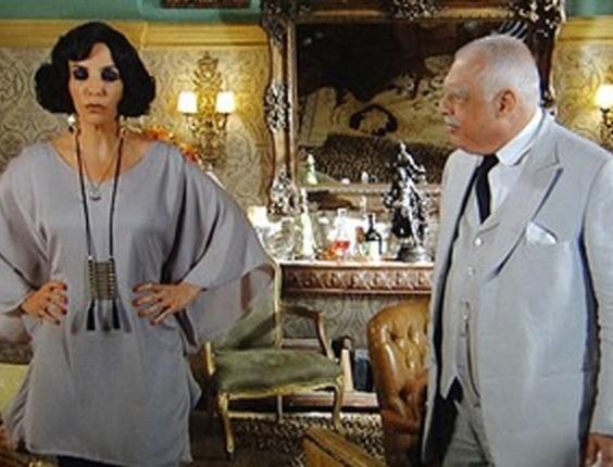 """Em """"Gabriela"""", coronel Ramiro diz que só vai se casar com Maria Machadão quando a amada não tiver mais a fama de quenga (11/10/12)"""