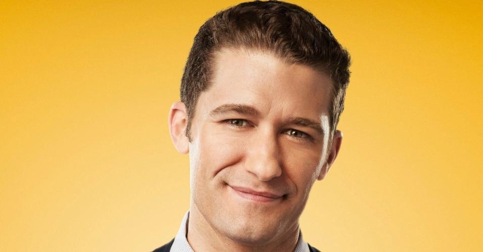 """O professor Will Schuester (Matthew Morrison) em cartaz da quarta temporada de """"Glee"""""""