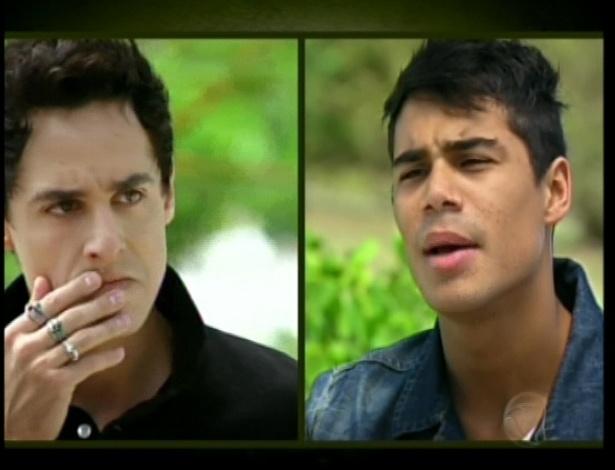 Miguel vai atrás de Diego e tira satifações com o cara
