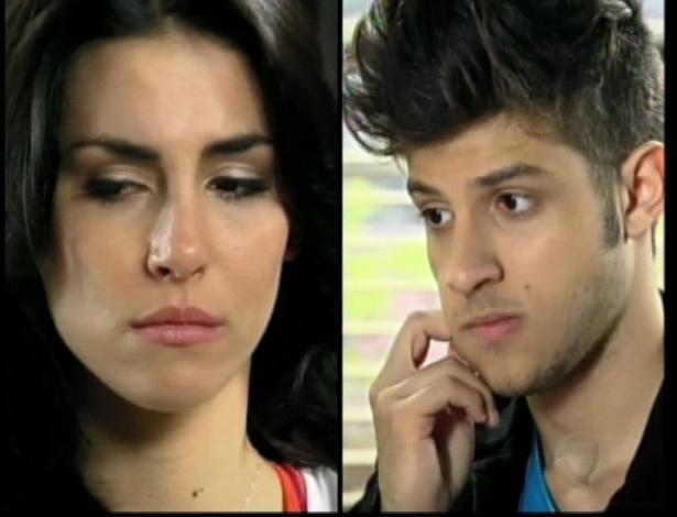 Roberta conta para Diego sobre sua mãe