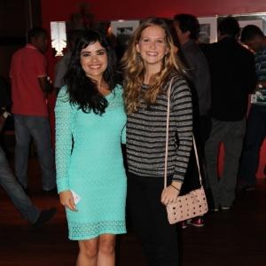 """Vanessa Giácomo encontra com Fernanda Rodrigues na festa do encerramento das gravações de """"Gabriela"""" (11/10/12)"""