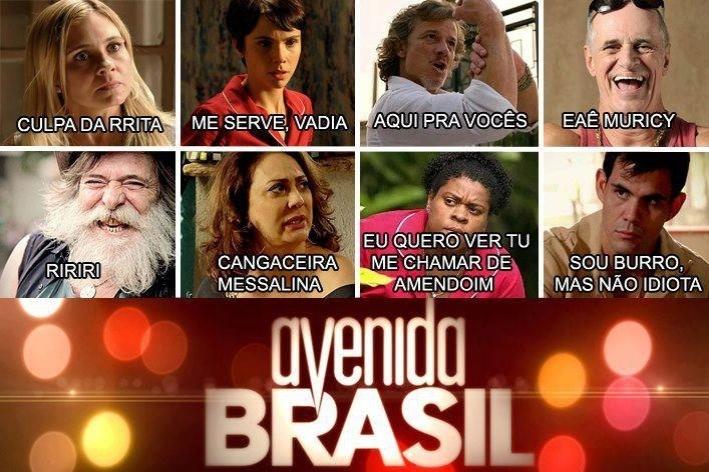 "O meme relembra frases marcantes de ""Avenida Brasil"""