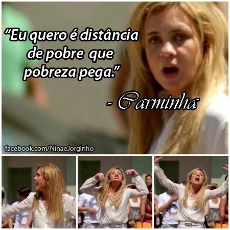 O meme se refere a cena em que Carminha (Adriana Esteves) é expulsa da mansão por Tufão (Murilo Benício)